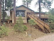 Berkshire Hathaway HomeServices Lynch Realty Ruidoso Vacation Rentals Green Gate Cabin